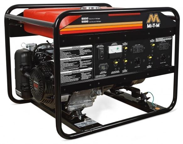 Gasoline Generator - GEN-6000-0MH0