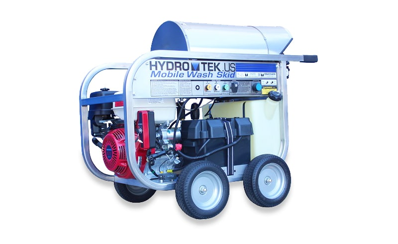 SM Series: Compact, Portable, Gas Powered, Diesel Heated