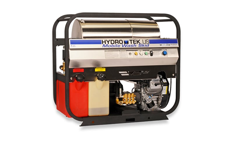 SS Series: Mobile Wash Skids - Compact, Gas Powered, Diesel Heated