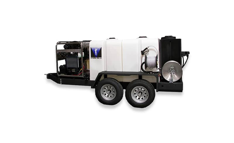 ProTowWash® Portable Commercial Pressure Washer Trailers